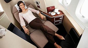 Qantas First Class 2